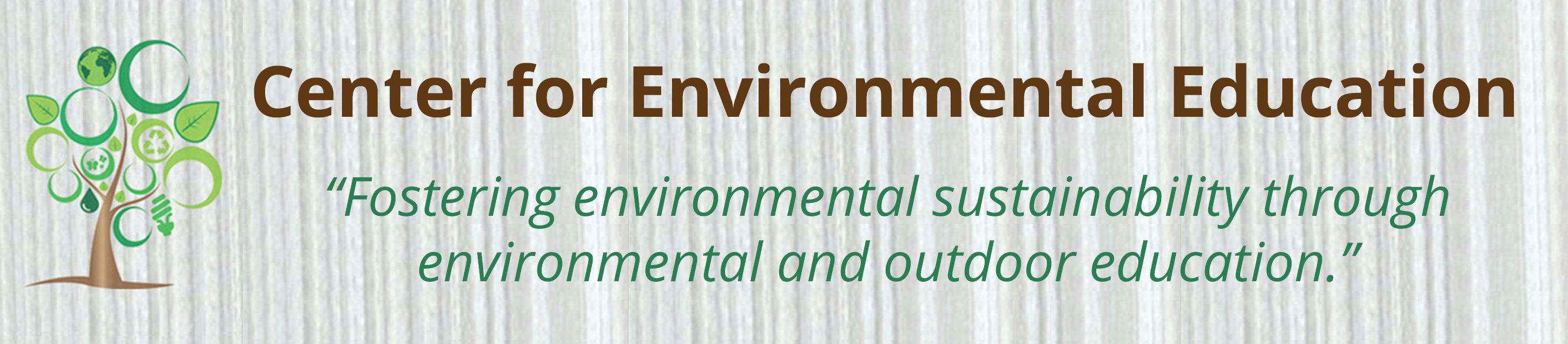 "Center for Environmental Education ""Fostering environmental sustainability through environmental and outdoor education"""