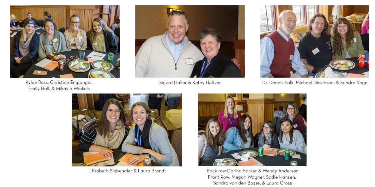 photo collage of UMD Social Work alumni and faculty