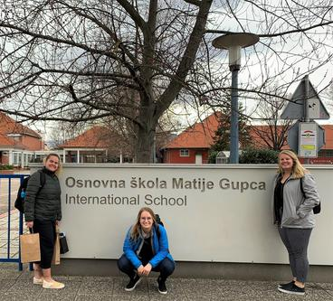 Picture of UMD Students at International School in Croatia