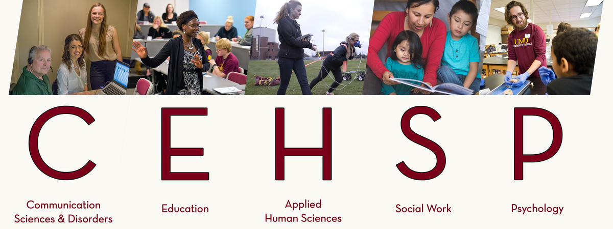 CEHSP programs collage