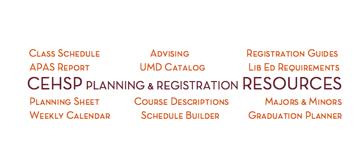 CEHSP Planning & Registration Resources