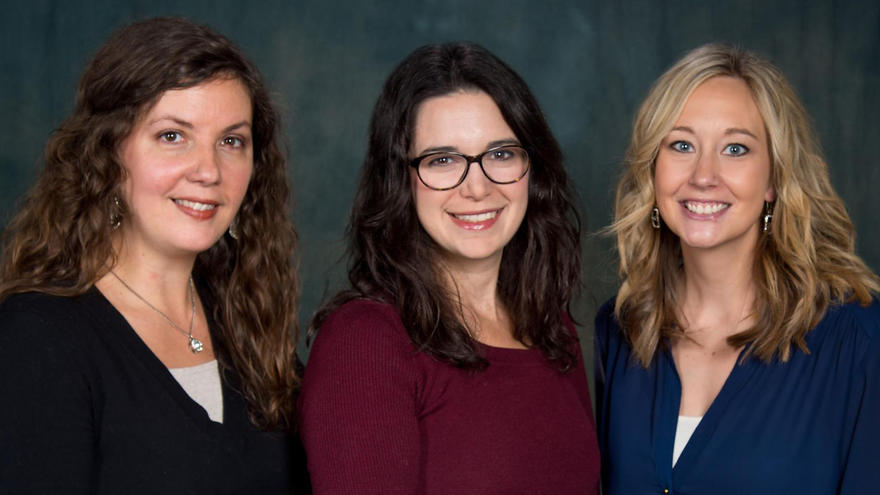 LeeAnn Myers, Jennifer Berges, Nikki Kangas