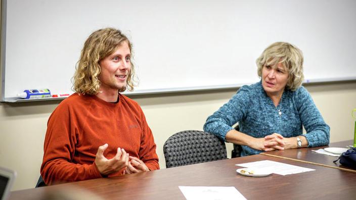 Derrick Kunze and Kay Wallis