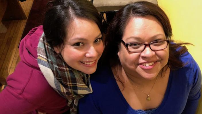 Angela and Alma Mendez