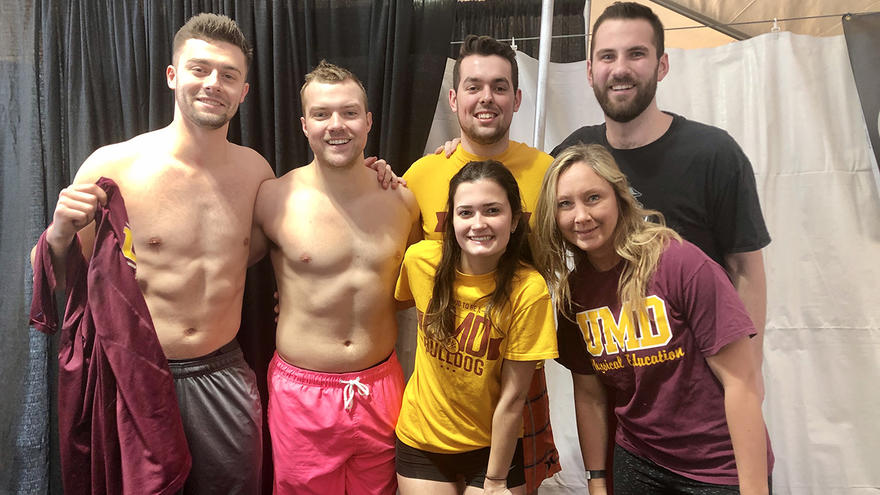 UMD Unified Club prepares for the Polar Plunge