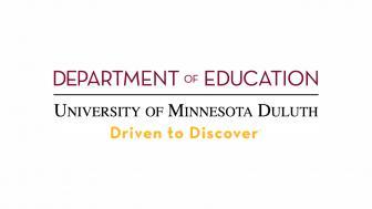 University of Minnesota Duluth, Department of Education logo