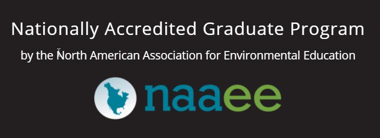North American Association for Environmental Education accreditation logo