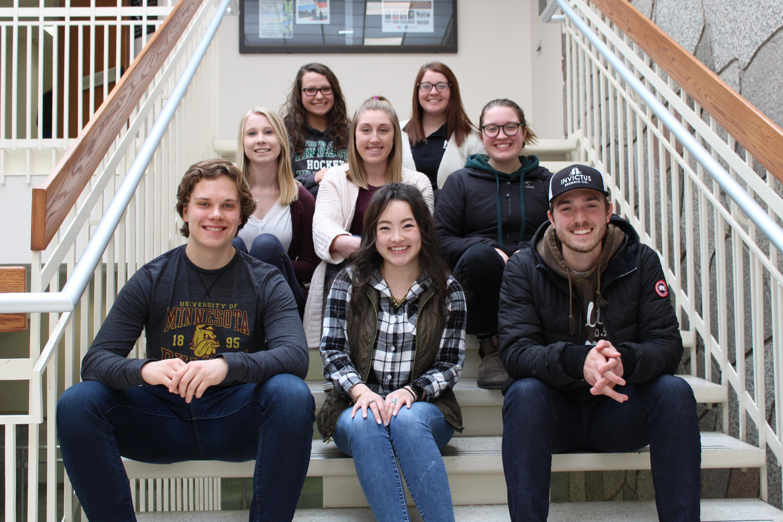 Peer Advising Group Photo Spring 2019